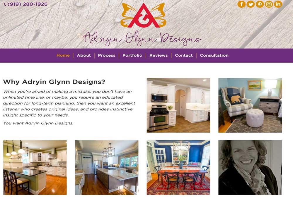 Adryin Glynn Designs, Raleigh NC