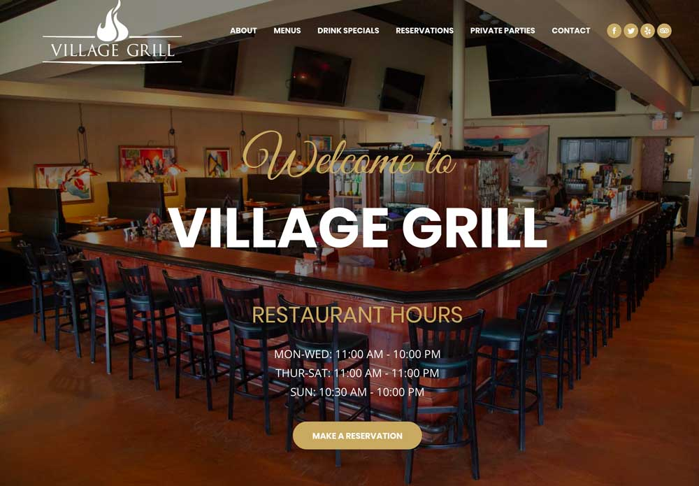 The Village Grill, Raleigh NC